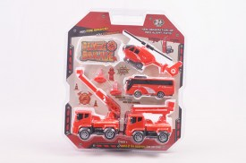 Set de bomberos RED FIRE BRIGADE (1)